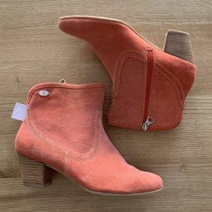 S.OLIVER Boots Veloursleder