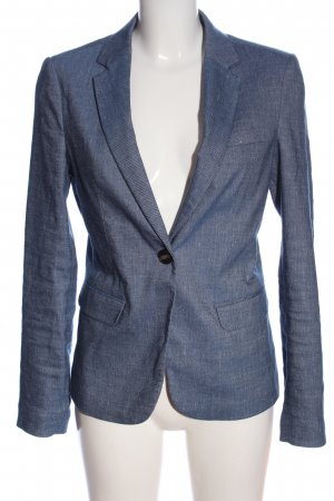 s.Oliver Boyfriend-Blazer blau meliert Business-Look