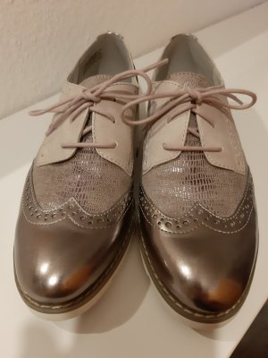 S. Oliver Budapester Oxford Metallic Rose Rosa/Metallic Business-Look