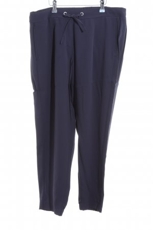 s.Oliver Bundfaltenhose blau Business-Look