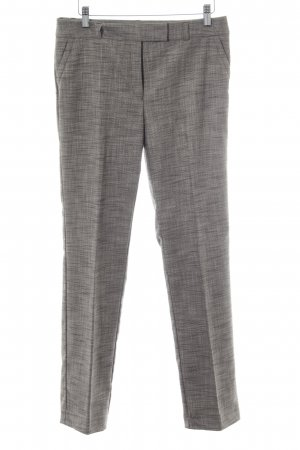 s.Oliver Bundfaltenhose schwarz-beige Business-Look