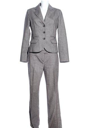 s.Oliver Traje de negocios gris claro Patrón de tejido estilo «business»