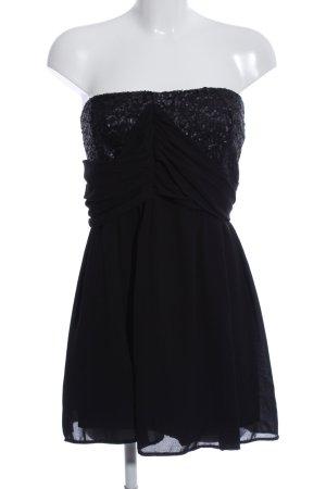 s.Oliver Vestido bustier negro elegante