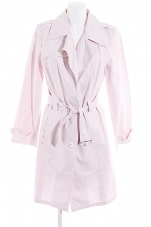 s.Oliver Heavy Pea Coat pink casual look