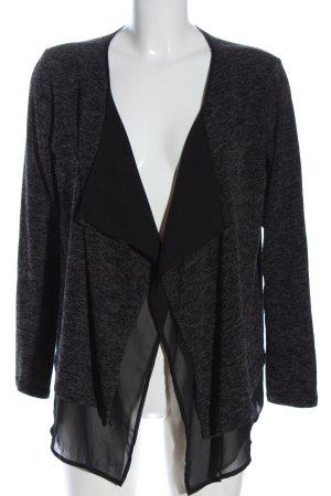 s.Oliver Cardigan grigio chiaro-nero puntinato stile casual