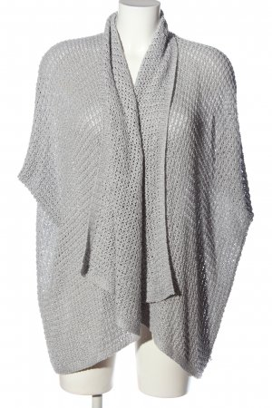 s.Oliver Cardigan hellgrau Zopfmuster Casual-Look