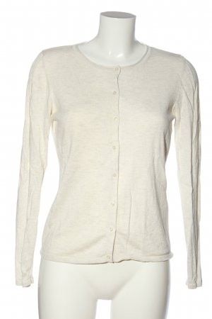 s.Oliver Cardigan wollweiß meliert Casual-Look
