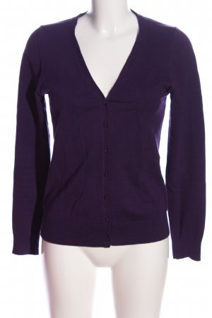 s.Oliver Cardigan lila Casual-Look
