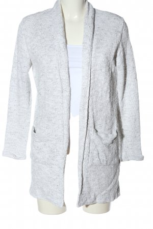 s.Oliver Cardigan light grey flecked casual look