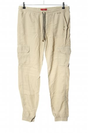 s.Oliver Cargohose wollweiß Casual-Look