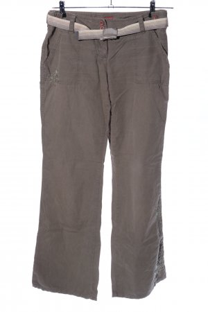 s.Oliver Cargohose braun Casual-Look