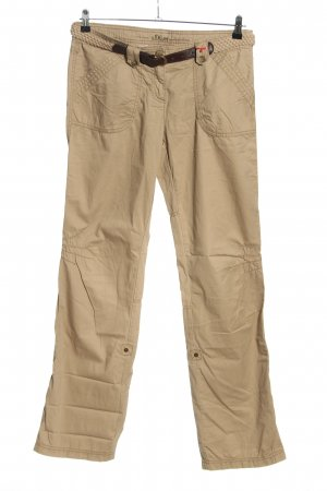 s.Oliver Cargohose creme Casual-Look