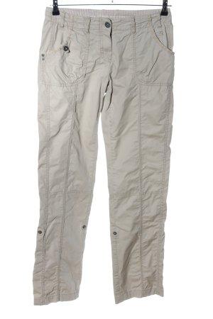 s.Oliver Pantalon cargo gris clair style décontracté