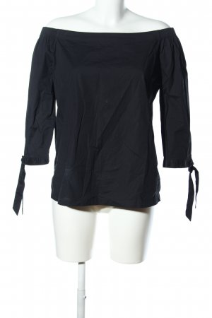 s.Oliver Carmen-Bluse schwarz Casual-Look