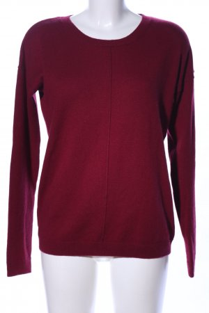 s.Oliver Cashmerepullover rot Casual-Look