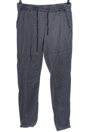 s.Oliver Pantalon chinos gris clair style décontracté