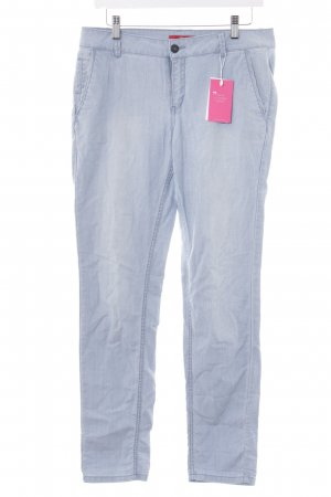 s.Oliver Chinohose himmelblau Casual-Look