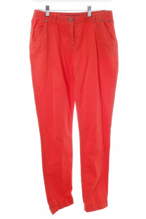 s.Oliver Chinohose neonorange Casual-Look