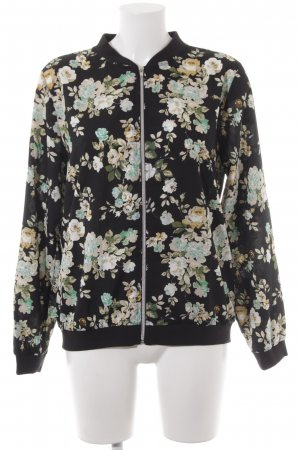 s.Oliver Collegejacke Blumenmuster Casual-Look