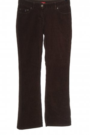 s.Oliver Corduroy Trousers brown casual look