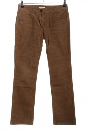 s.Oliver Cordhose braun Casual-Look