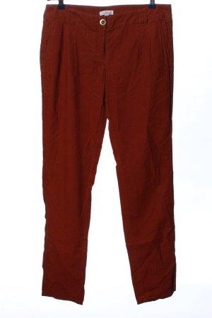 s.Oliver Corduroy broek rood casual uitstraling