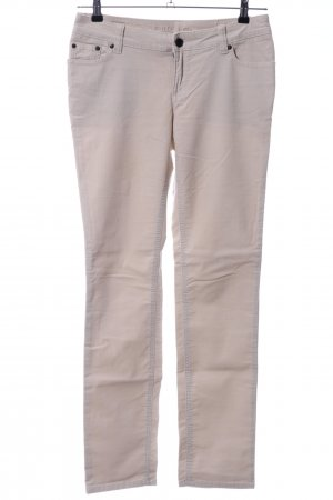 s.Oliver Cordhose wollweiß Casual-Look