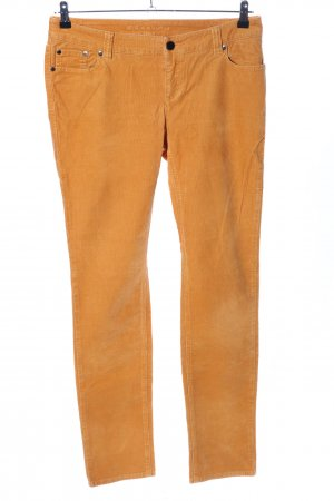 s.Oliver Cordhose hellorange Casual-Look