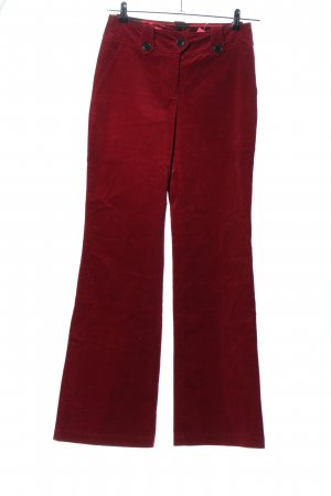s.Oliver Cordhose rot Casual-Look