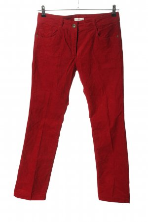 s.Oliver Corduroy Trousers red casual look