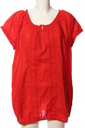 s.Oliver Crash-Bluse rot Casual-Look