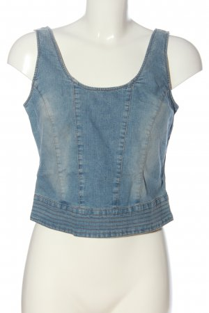 s.Oliver Cropped Top blau Casual-Look