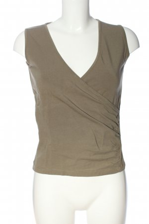 s.Oliver Cropped Top braun Casual-Look
