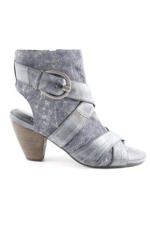 s.Oliver Cut-Out-Stiefeletten graublau extravaganter Stil