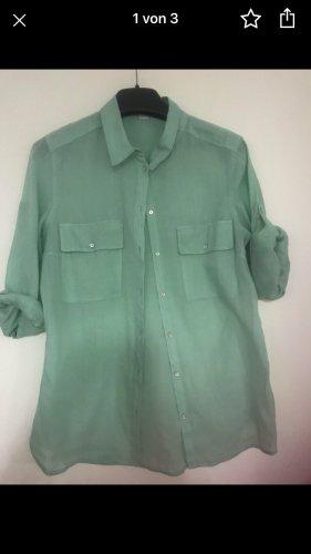 S.Oliver damen Bluse Hemd mint grün gr 38
