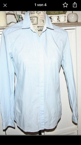 S. Oliver Damen Business Bluse Hemd blau streifen 36