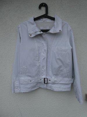 s.Oliver – Damen Jacke kurz, weiß – Gebraucht, fast wie neu