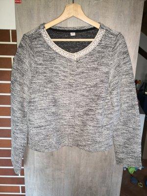 s. Oliver (QS designed) Shirtjack zwart-zilver