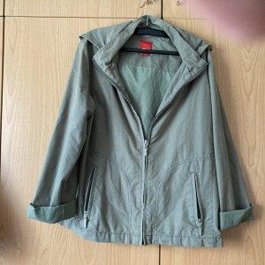 Outdoor Jacket olive green mixture fibre