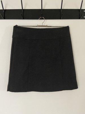 s.Oliver Wollen rok zwart-zwart bruin