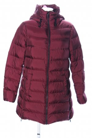 s.Oliver Down Coat red quilting pattern casual look