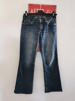 s.Oliver Boyfriend Jeans multicolored cotton