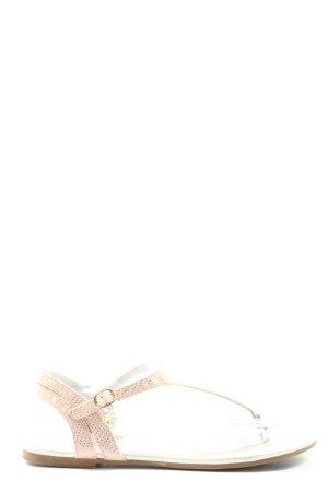 s.Oliver Dianette-Sandalen creme Casual-Look