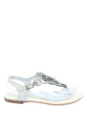 s.Oliver Dianette sandalen wit casual uitstraling