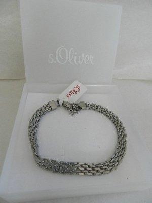s.Oliver Pulsera color plata acero inoxidable