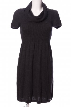 s.Oliver Empire Dress black flecked casual look