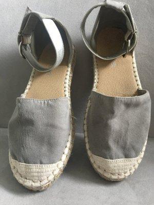 s.Oliver Espadrille gris coton