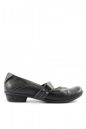 s.Oliver Scarpa Mary Jane nero stile casual