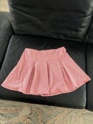 s.Oliver Plaid Skirt white-red