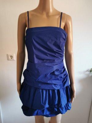 s.Oliver Sukienka z rękawem balonowym niebieski